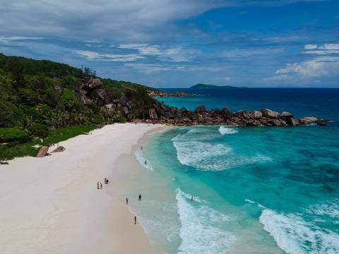 Landscape of Seychelles