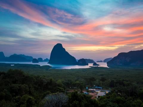 Landscape of Phang Nga