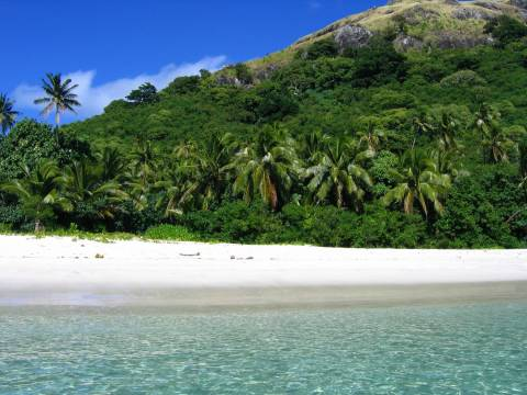 Landscape of Fiji Islands