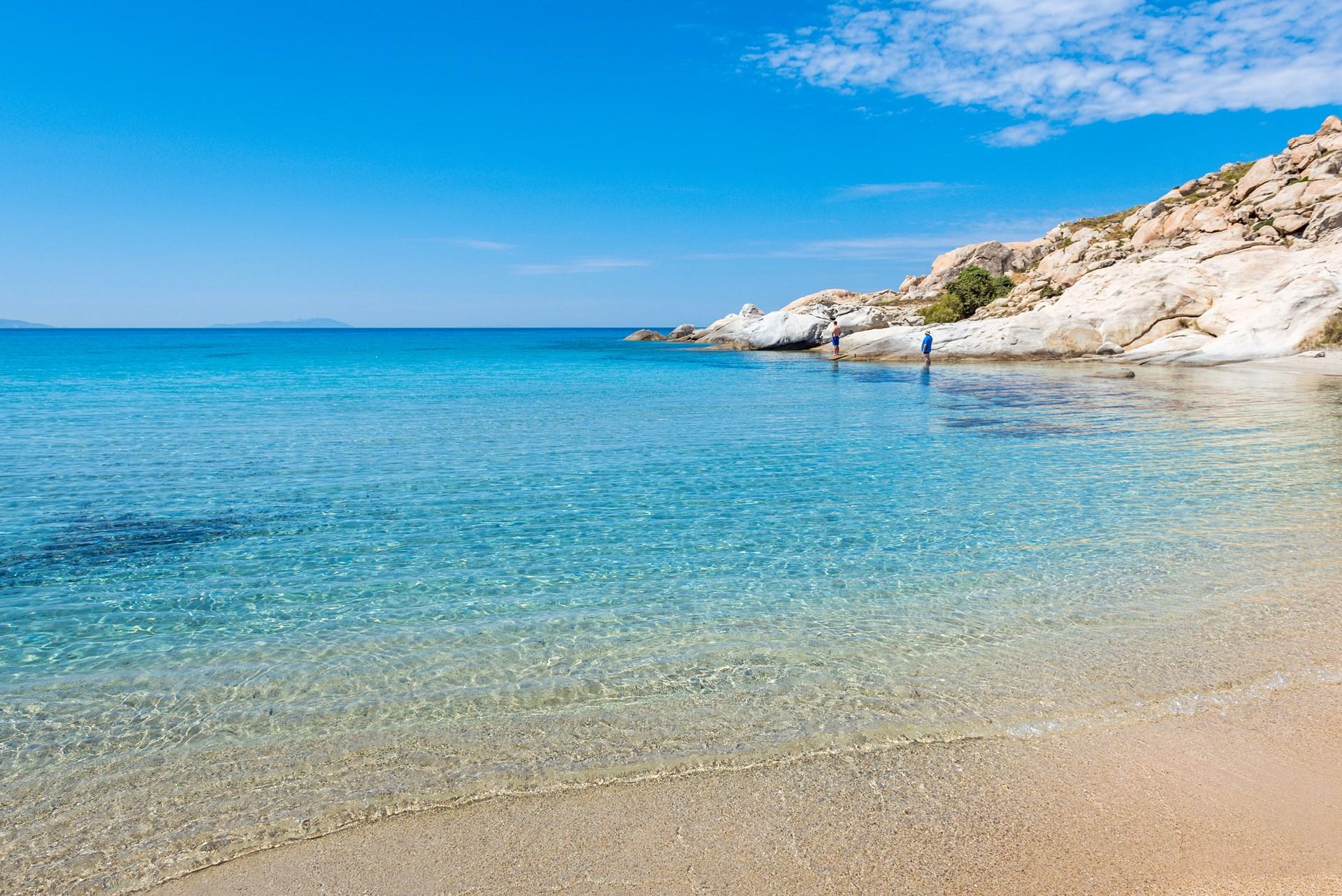 Top beaches in Naxos