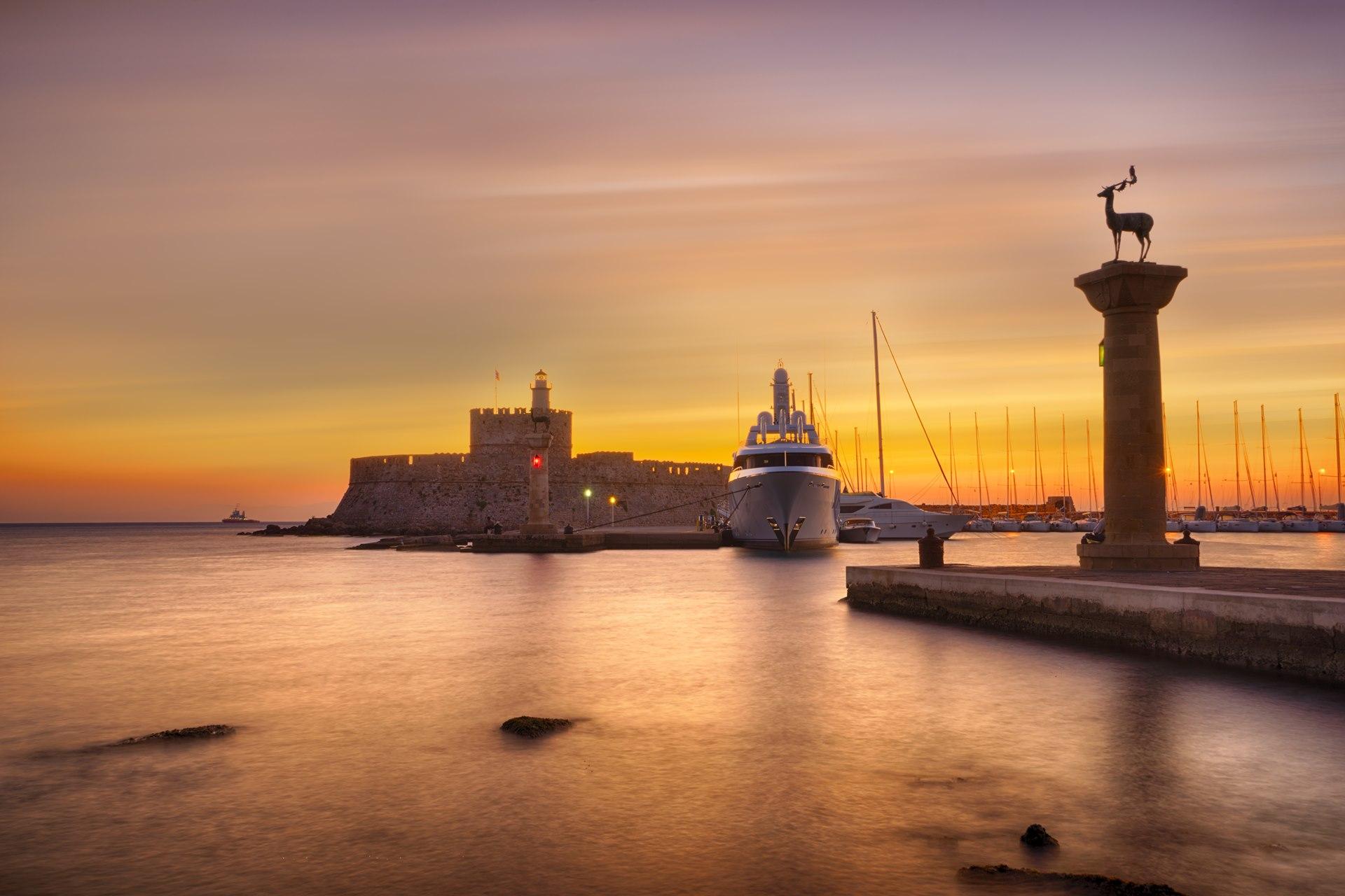 Top sights in Rhodes