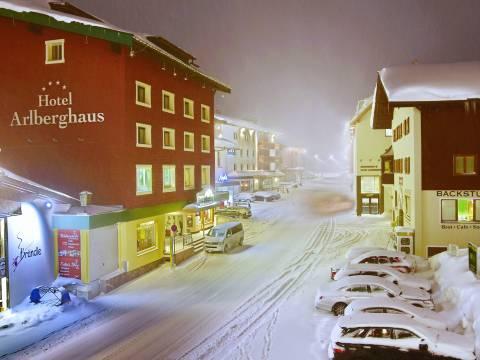 Landscape of Arlberg