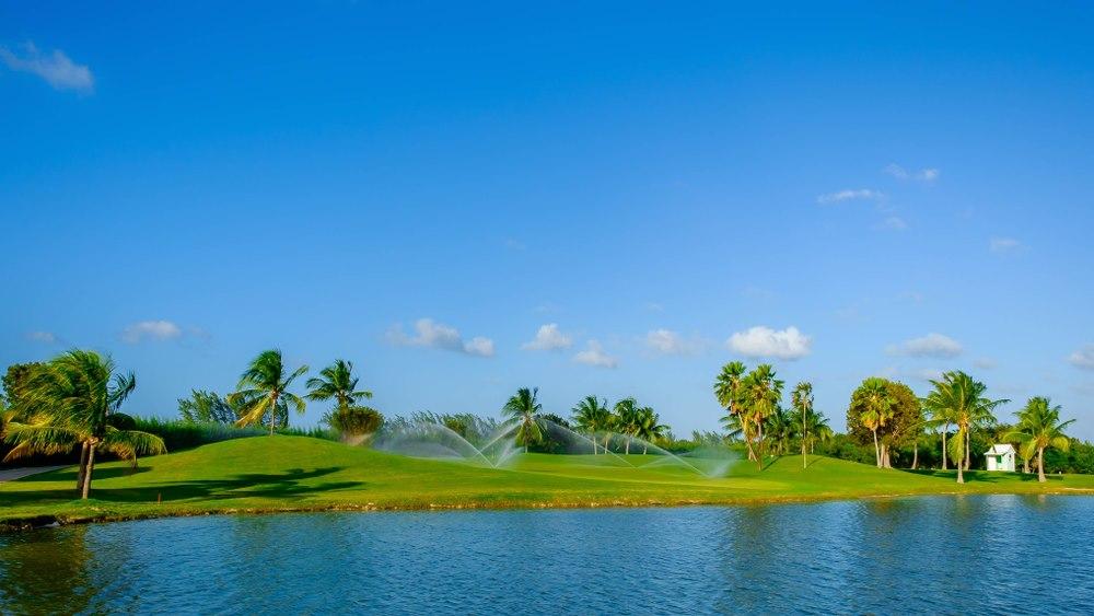 Golf in Caribbean