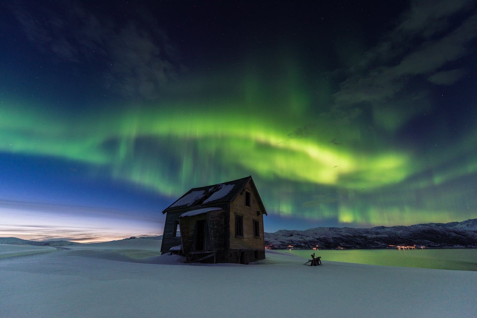 Taking a trip to see the Northern Lights in Norway