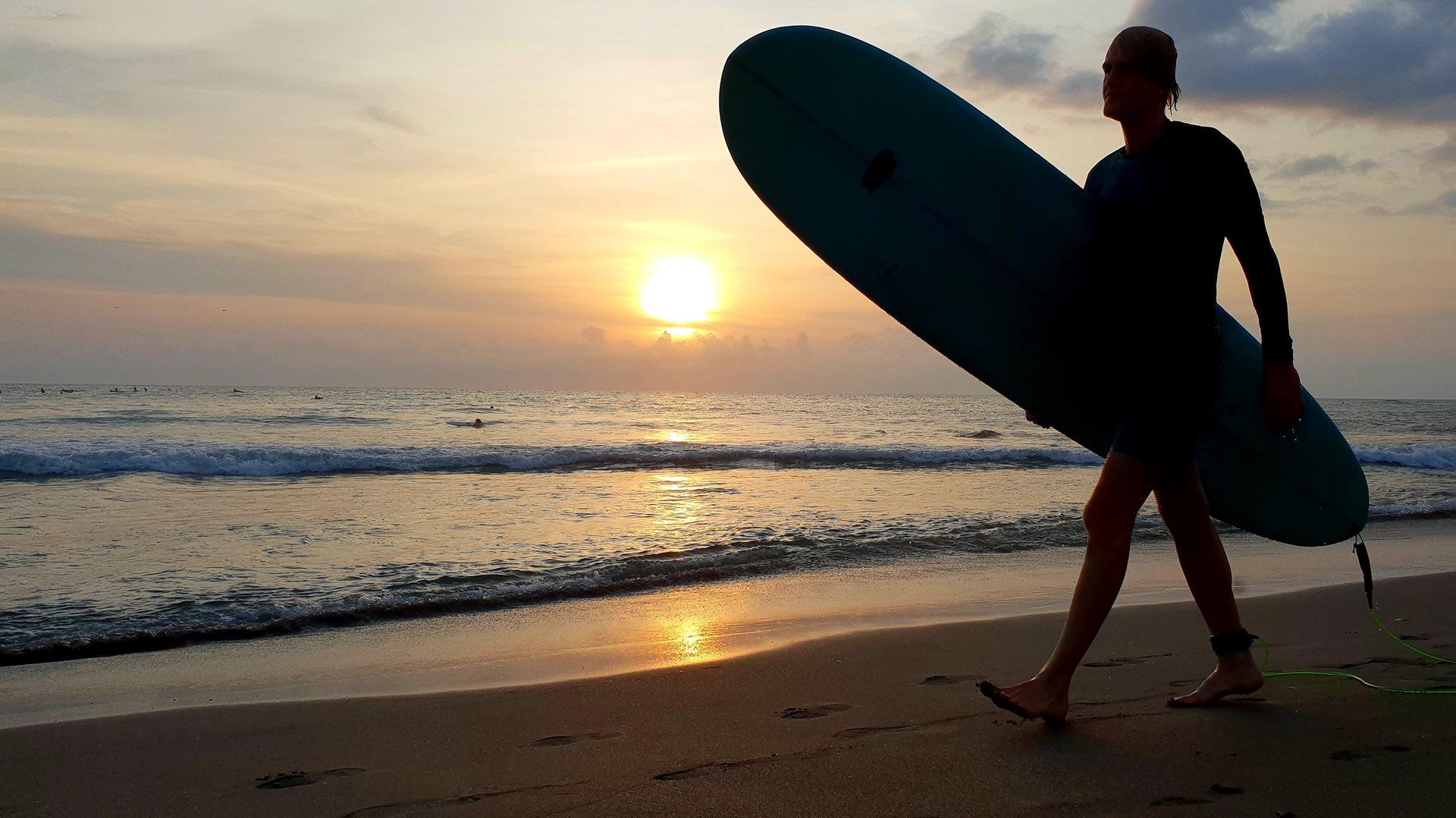Canggu, Catch Waves from Sunrise to Sunset