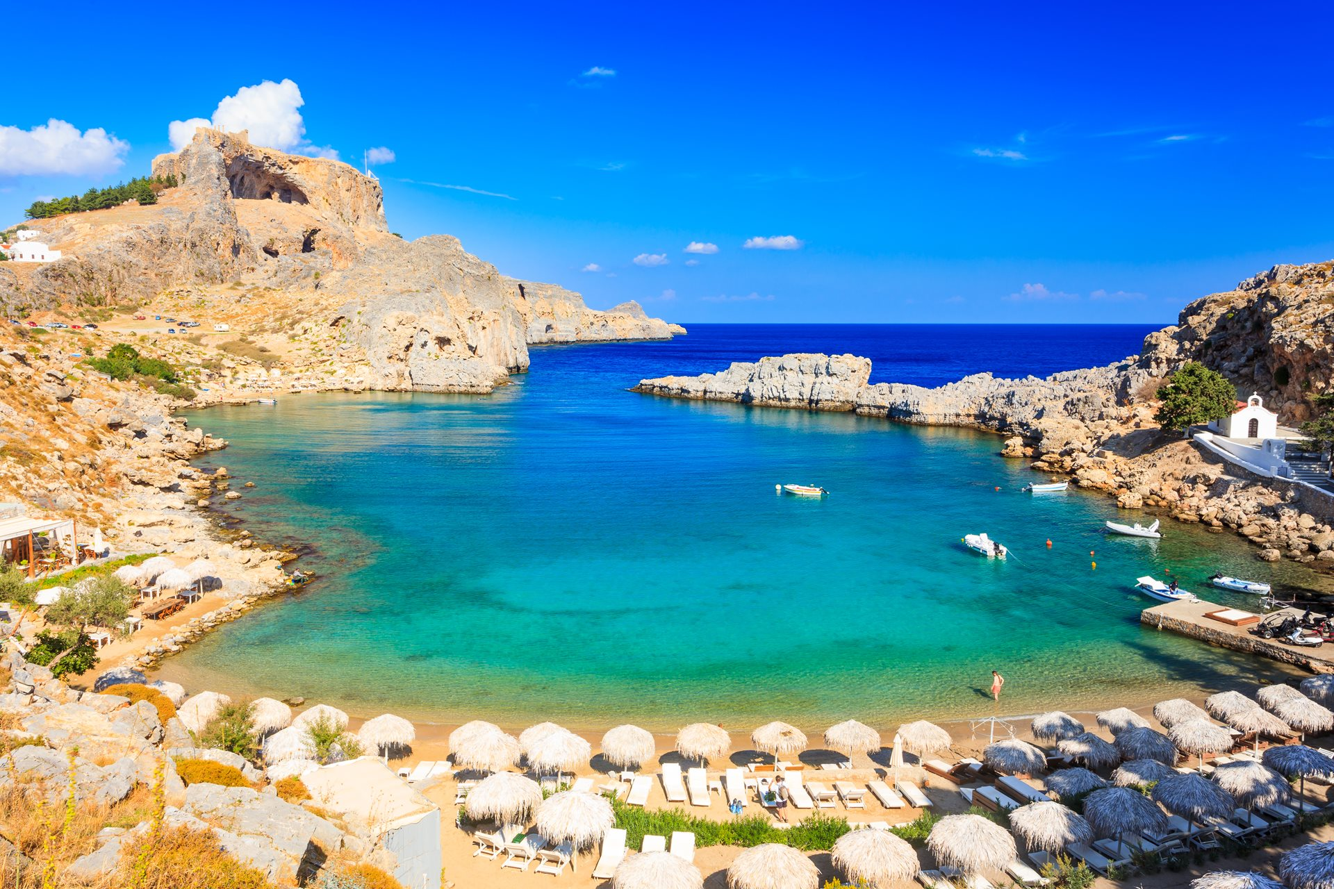 The ultimate guide to Rhodes beach