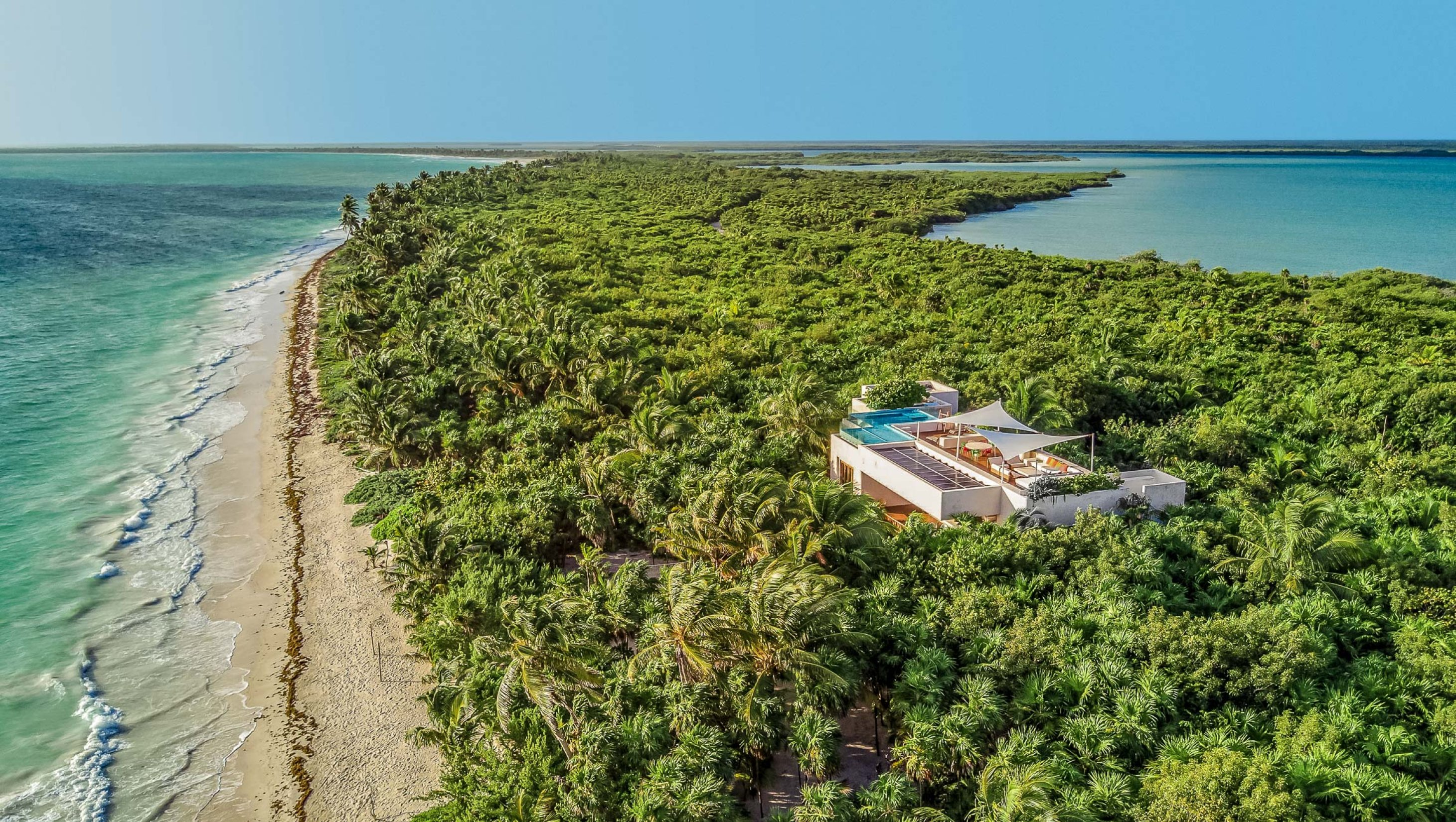 Live the ultimate luxury experience in Casa Ikal in Tulum, M