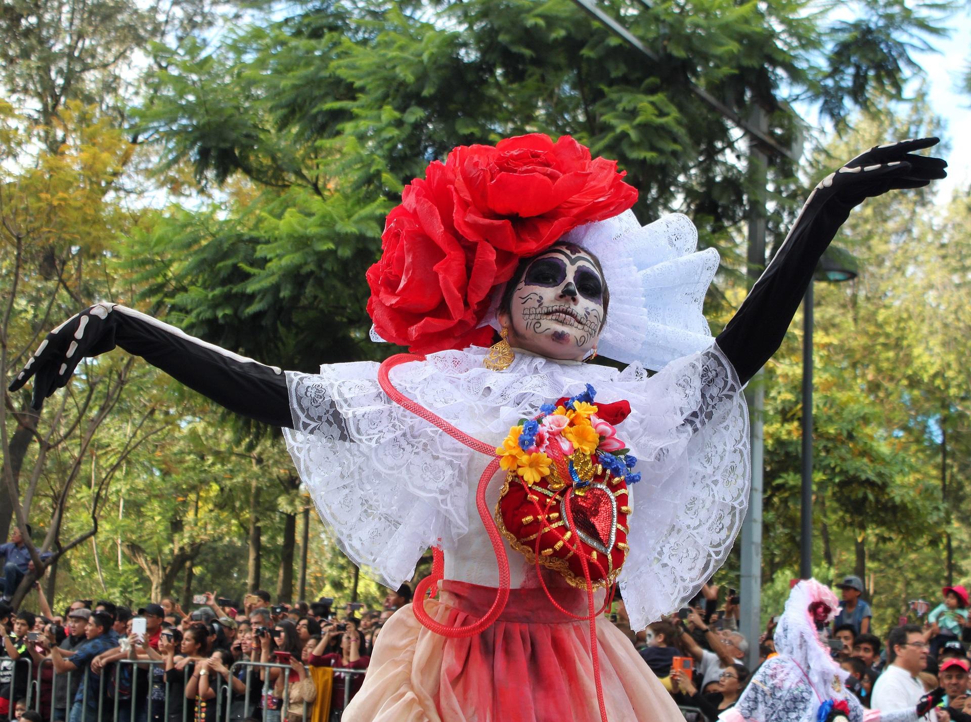 Día de Muertos, also known as Day of the Dead in Mexico