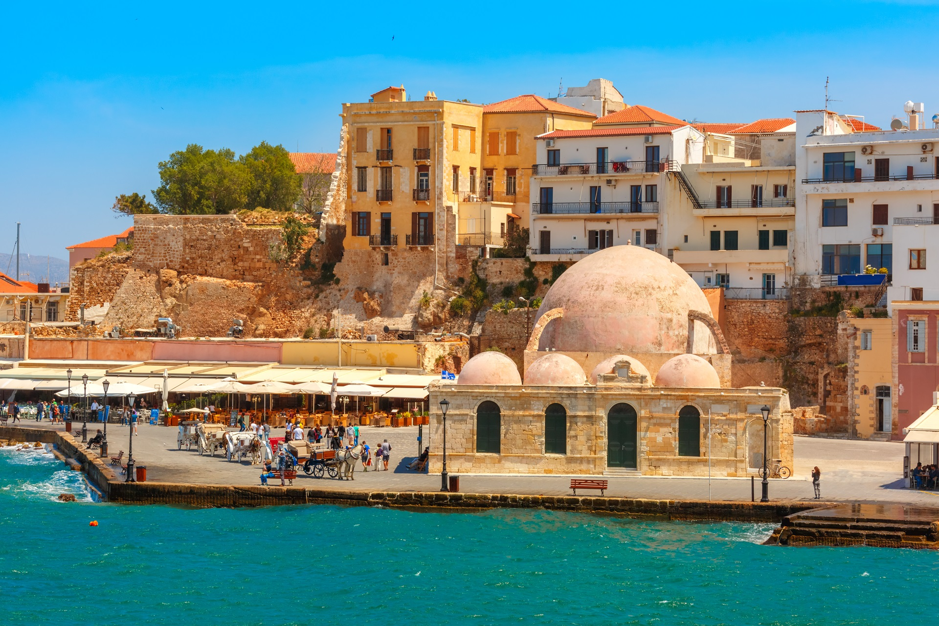 History of Chania in Crete island