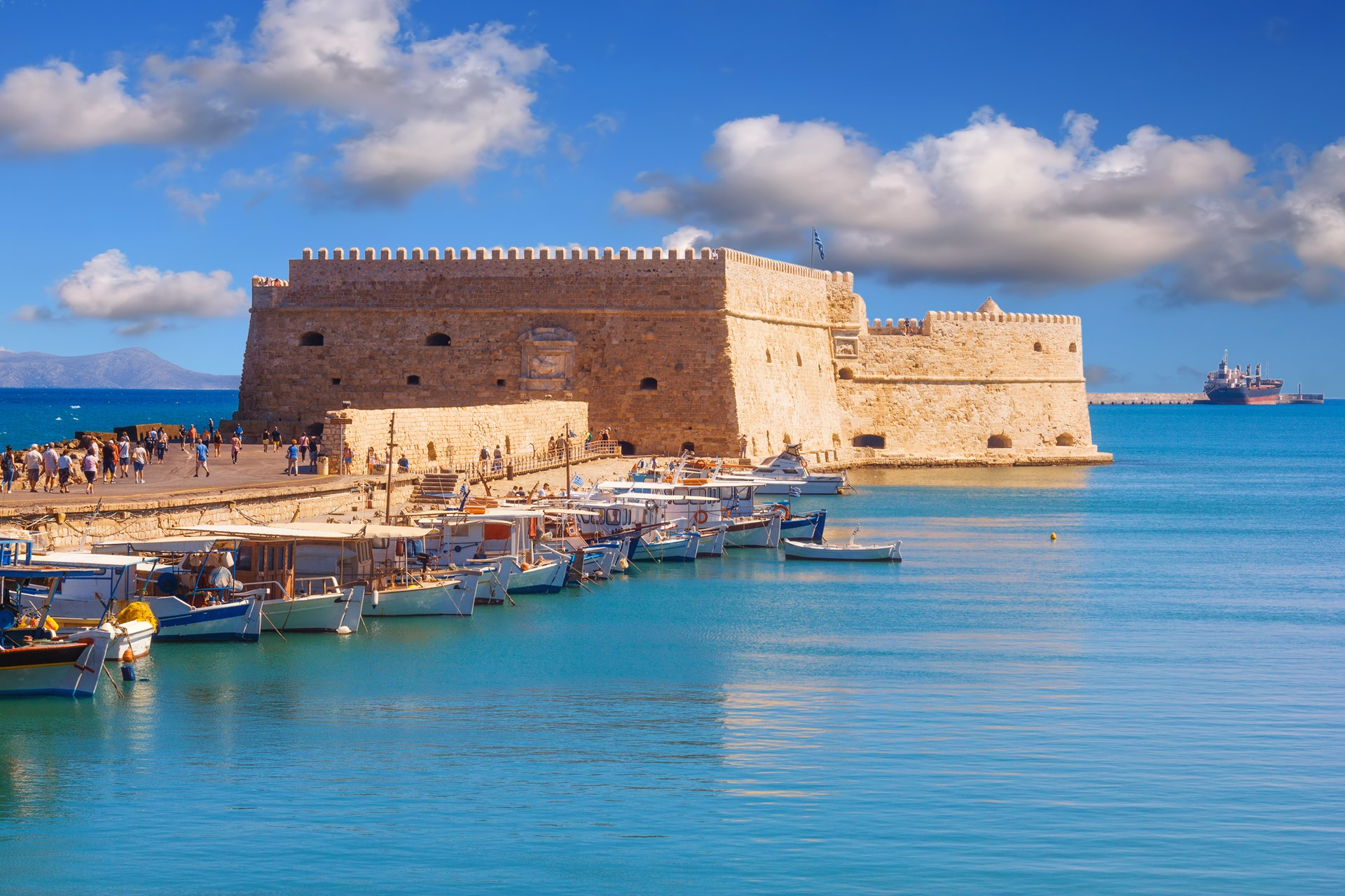 Food and drink in Heraklion