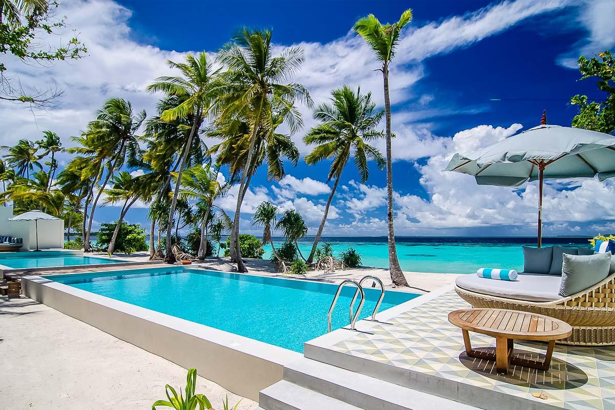 Amilla Great Beach Villa Residence Maldives