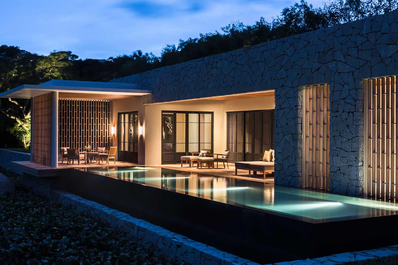 Spa Houses at Amanoi Resort Vietnam