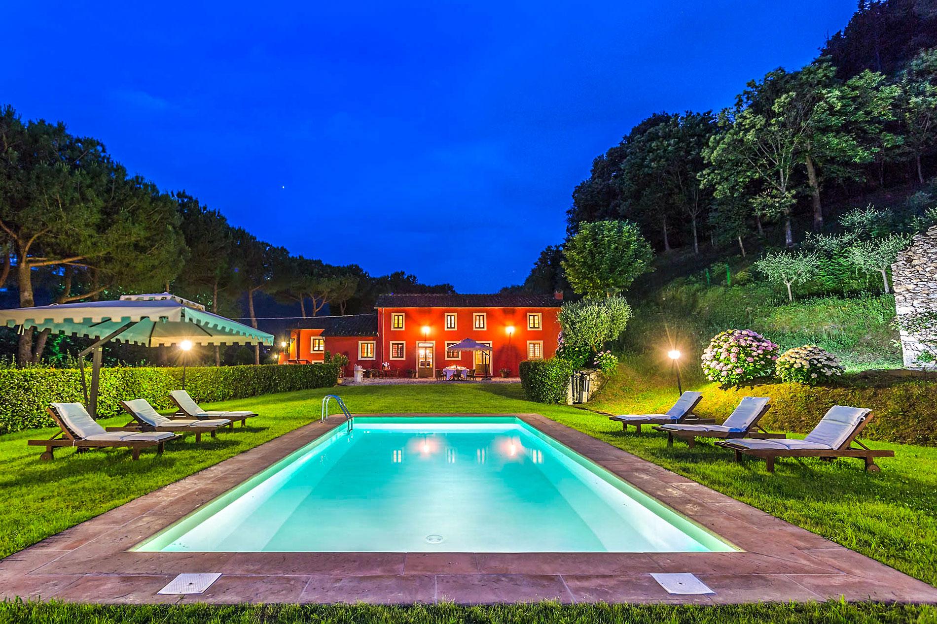 Villa Frantoio Tuscany