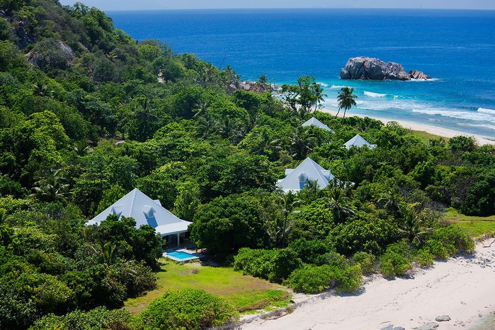 Luxury Villas at Cousine Island Seychelles