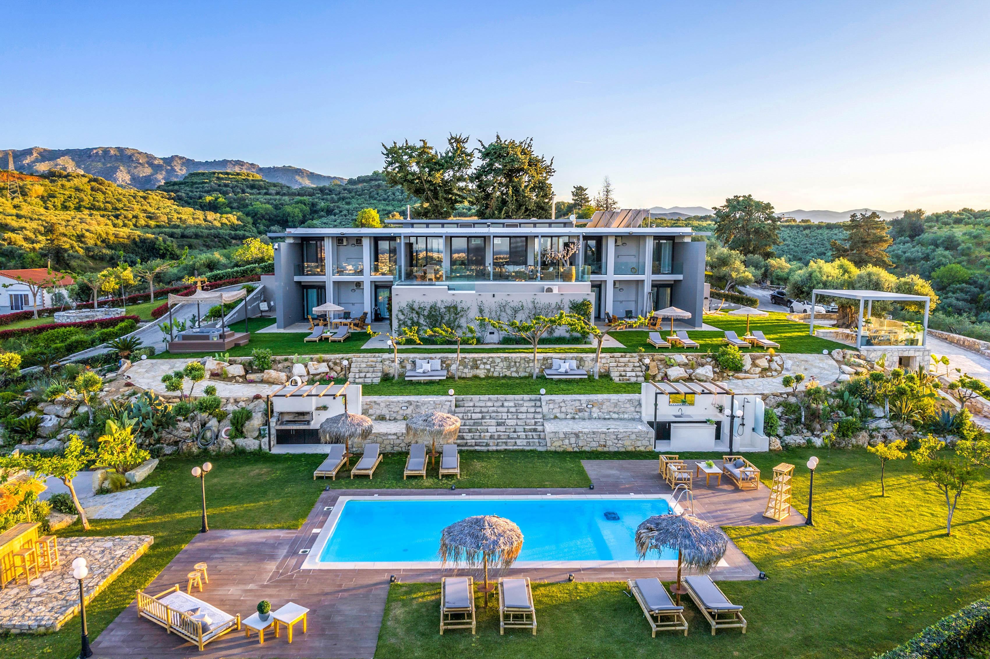 OliveNest Villa Chania