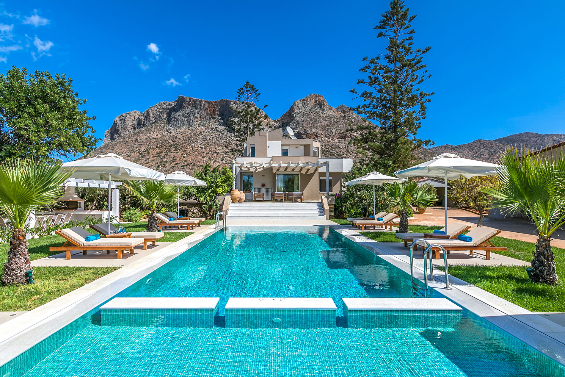 Deep Blue Villa Chania