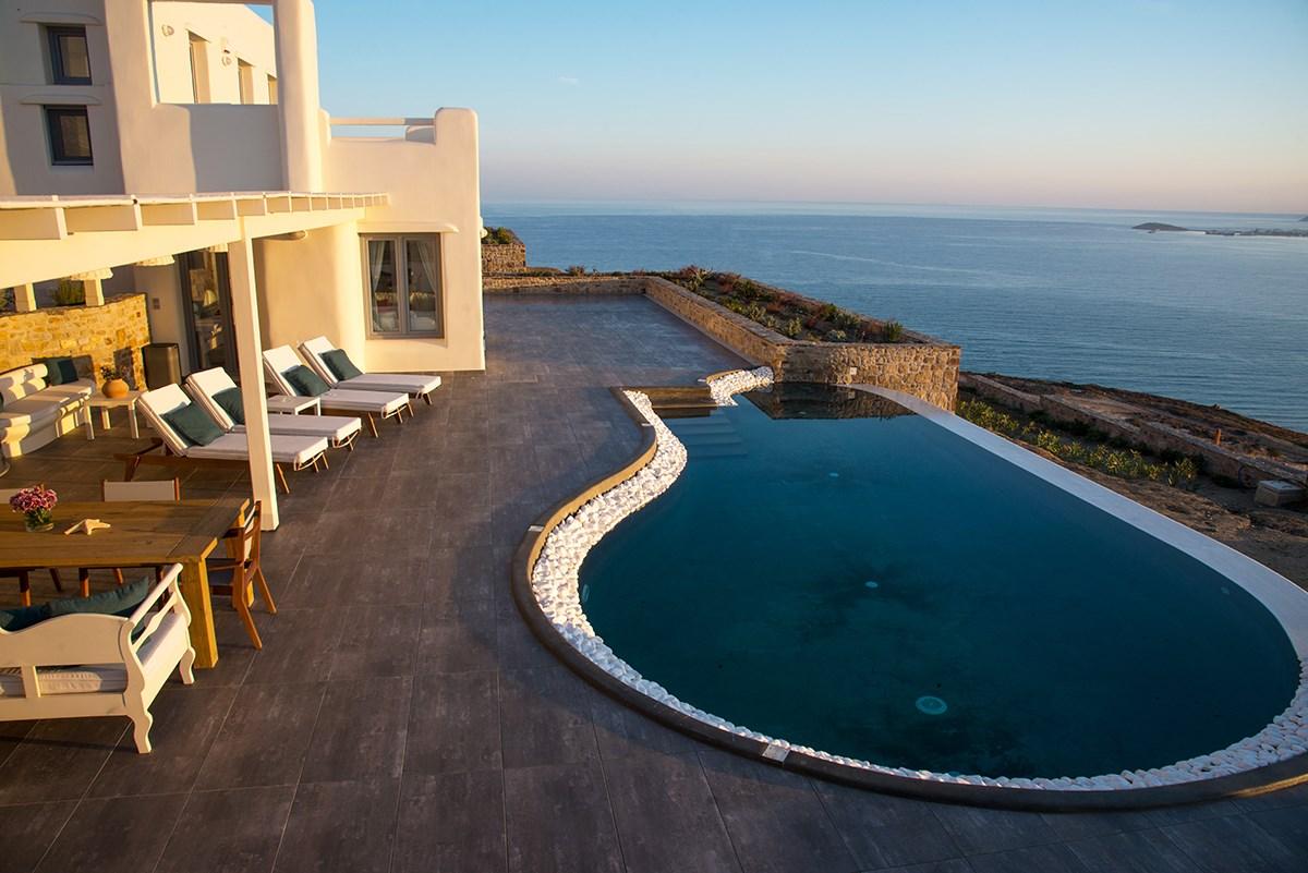 Hermes Villa at Naxos Rock Villas