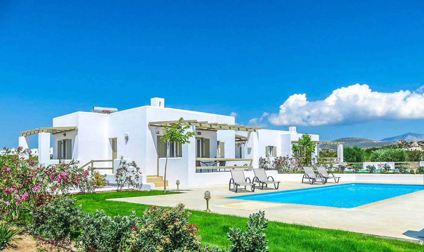 Villa Olive at Sea and Olives Naxos